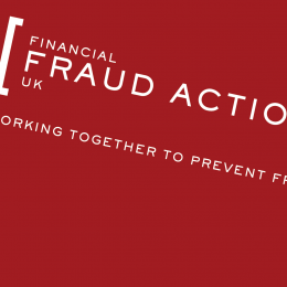 Advertising, Branding, Digital, Marketing and Print For Financial Fraud Action UK Designed By Freelance Graphic Design Creative Charlotte Delmonte From Brighton, East Sussex.