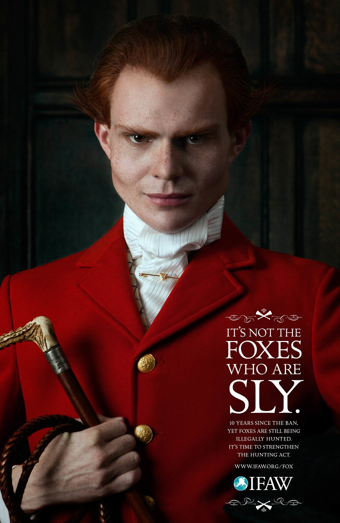 not all men are sly foxes But, with fox hunting, it's not all what it seems, and that's why today  'the sly  ones' campaign aims to highlight that 10 years since the ban on.