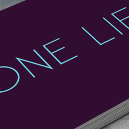 Digital, Marketing, Branding and Print For One Life PT Designed By Freelance Graphic Design Creative Charlotte Delmonte From Brighton, East Sussex.
